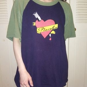 Rare Vintage Worn Placebo 2000 Tour Tshirt!